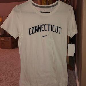 Women's Nike Slim Fit UConn Shirt